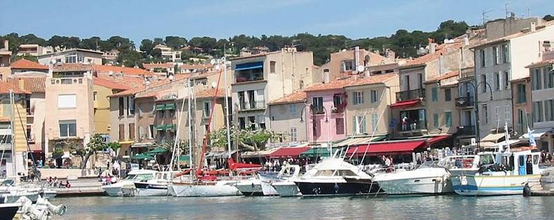 another view of the port of Cassis France sailing boatcharter