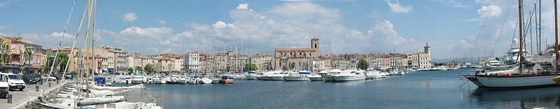 La Ciotat Provence Yachtharbour port of pleasure boats and city port