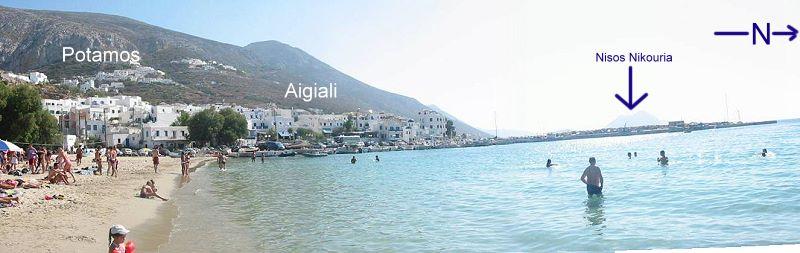 Amorgos Aigiali Port