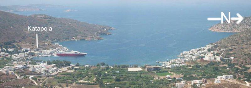 Amorgos Katapola Ägäis Kykladen