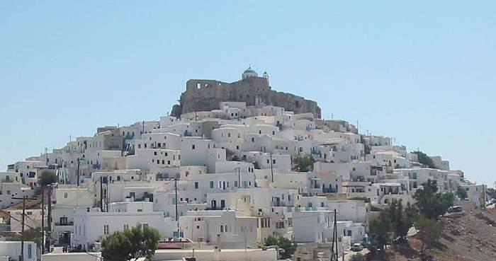 Astipalaia Chorio Festung