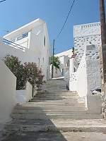 Astipalia way to upper village called  Chorio