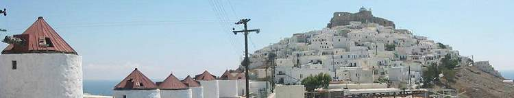 Astipalaia Chorio and castle