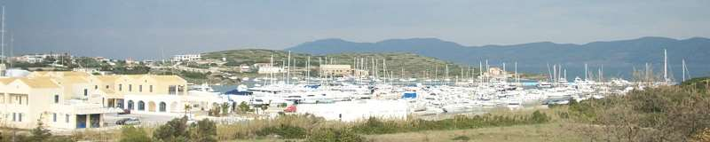 Marina Lavrion Yachtcharter Greece