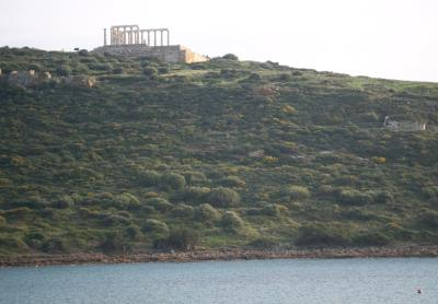 Kap Sounion der Tempel
