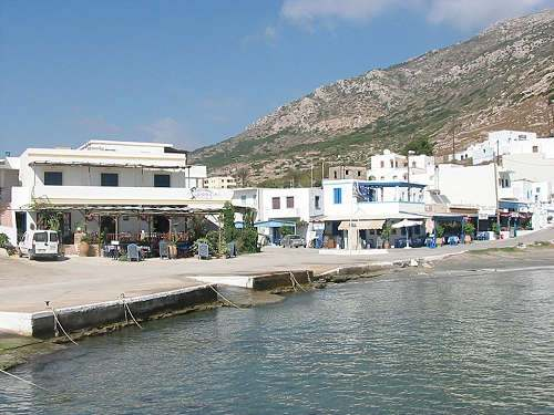 Finiki Karpathos village and harbour