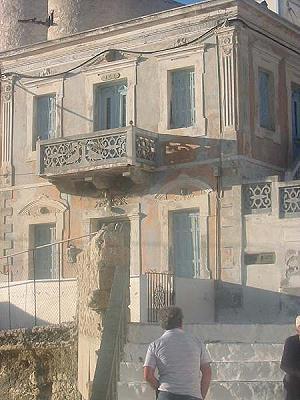 Karpathos Olimbos old classicistical buildings