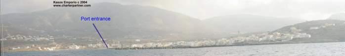 Kasos Harbour Kasos Port Phry  Dodekanes Yachtcharter Segeln Griechenland