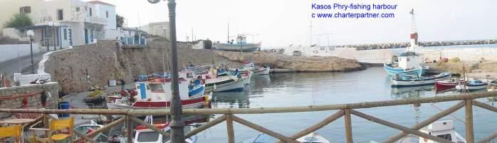 Kasos Yachtcharter Segeln Charteryachten Hafen Phry Kasos Karpathos Kasos Phry Fri