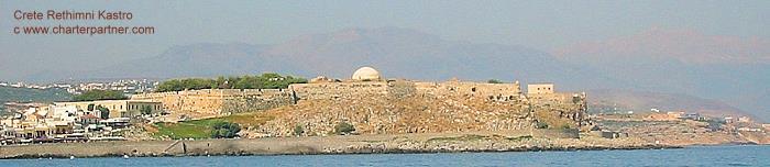 Fortezza Rethimno Kreta Kastro Griechenland