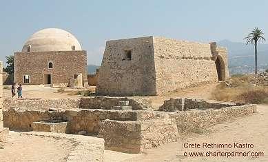 Fortezza Kstro Rethimno Kreta Moschee