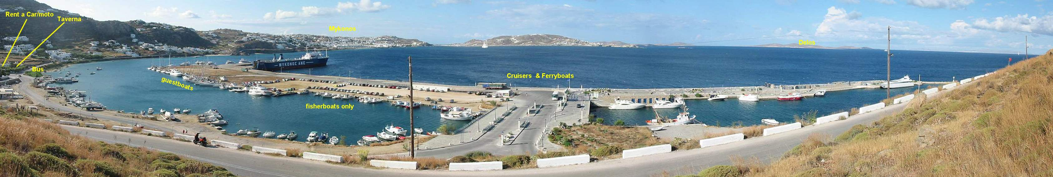 Mykonos Tourlos Marina Port