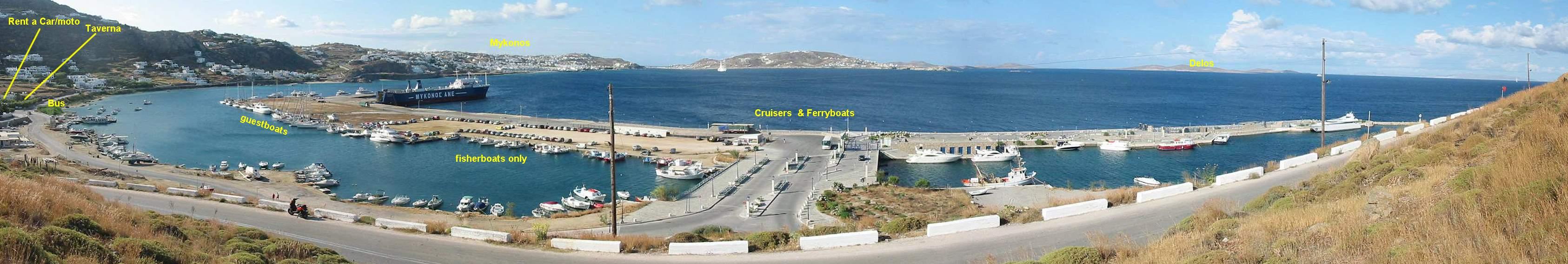 Mykonos Tourlos Marina Port