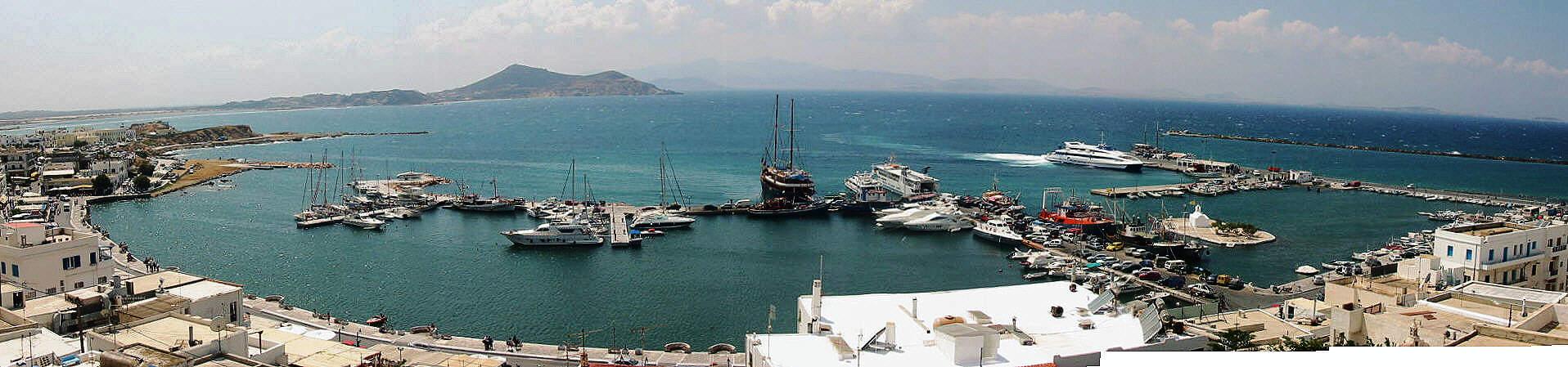 Naxos Marina Port Harbour Naxos Greece Cyclades yachting