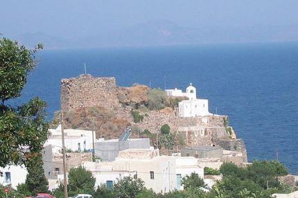 Nisyros Insel des Vulkans nahe der Insel Kos