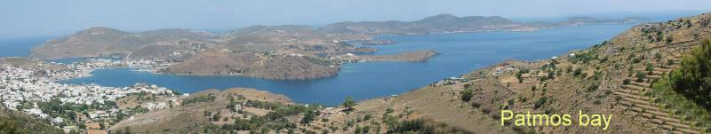 Patmos offers many beautiful bays