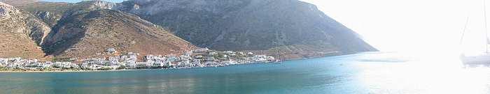 Sifnos Kamares Port cyclades greece