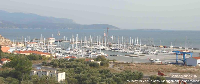 Marina Yachts in Samos