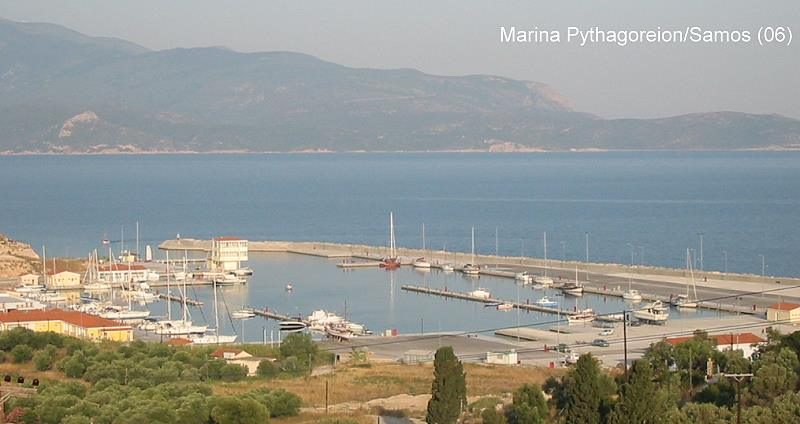Pythagoreion Samos Marina