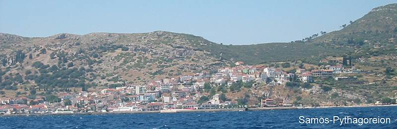 Samos die Insel des Pythagoras Samos Pythagoreion Hafen und Marina