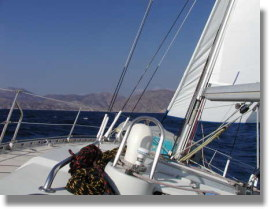 sailing turkish waters and greek dodecanese islands east mediterranean sea